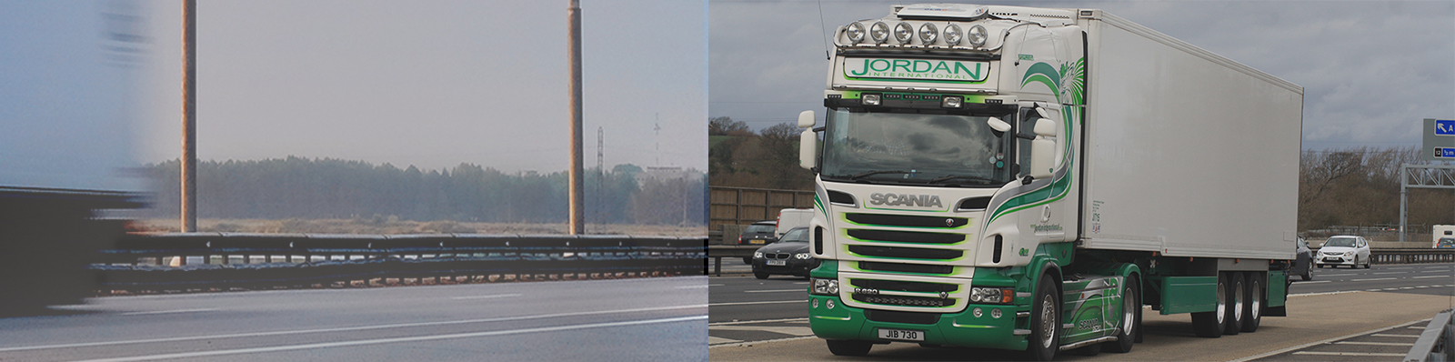 Jordan International Haulage Banner