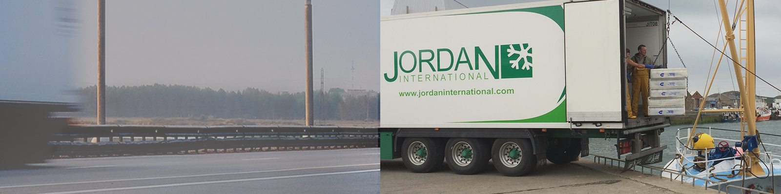 Jordan International Seafood Transportation
